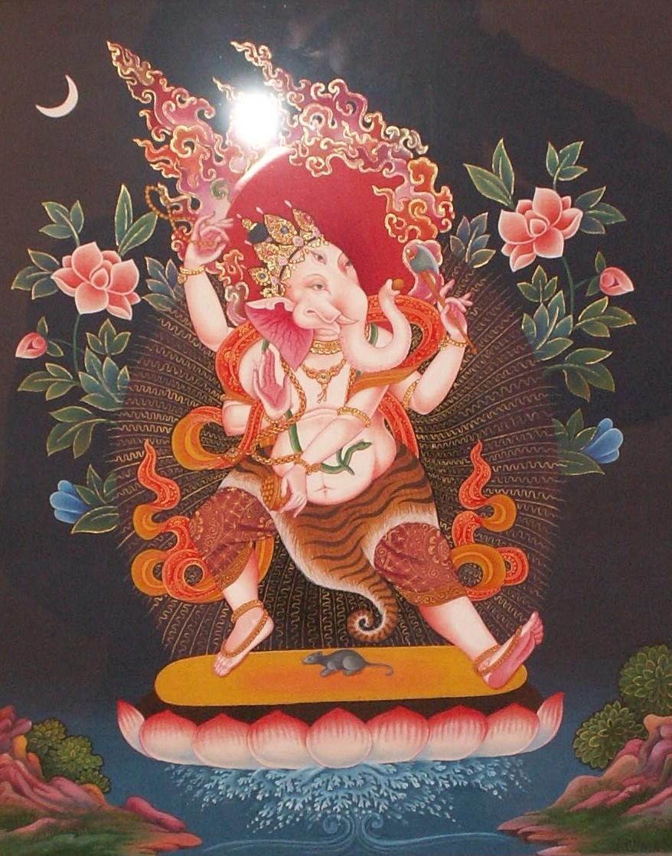 Thangka Newari - Ganesha 2010